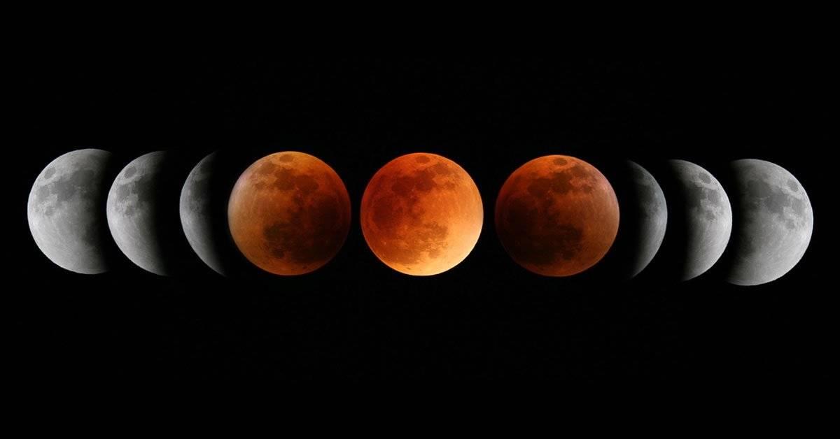 Eclipse total, luna de sangre y superluna ocurrirán en un mismo día este 20 de enero de 2019