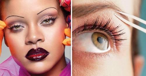 ¿Cuáles pueden ser los peligros de depilarse las cejas tan finas como Rihanna?