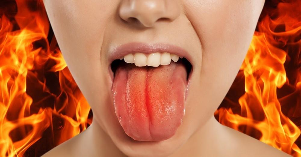 Dolor en garganta y lengua