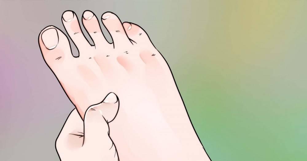 Cómo hacerte un automasaje relajante en los pies