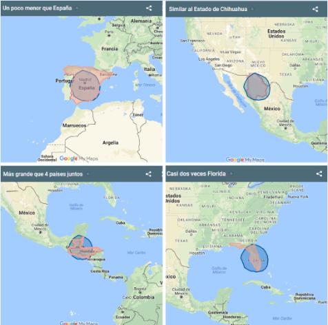 ¿Por qué es tan grande el huracán Irma? La respuesta NO te sorprenderá