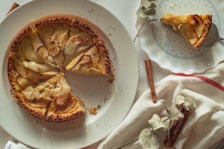 recetas galletitas dulces para diabeticos- apple crumble-unplash