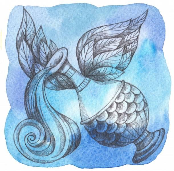 El signo del zodíaco acuario