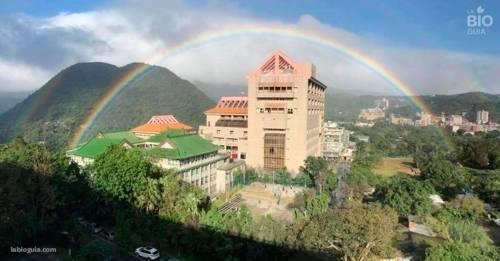 Así se vio en el cielo el arco iris más largo de la historia