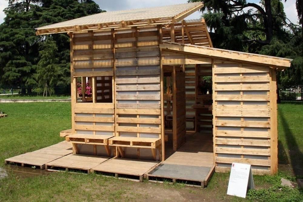 Cómo construir una casa con palets