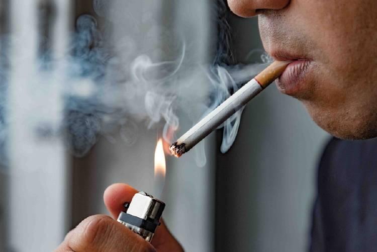 fumar nicotina
