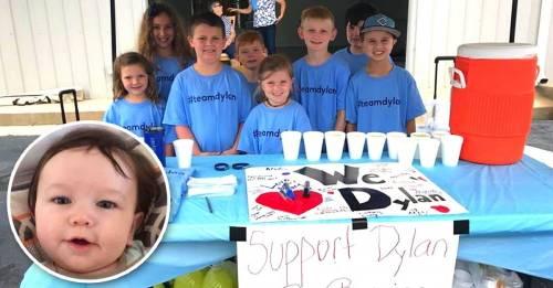 Este niño reunió 6000 dólares en 2 horas para salvar la vida de su hermanit..