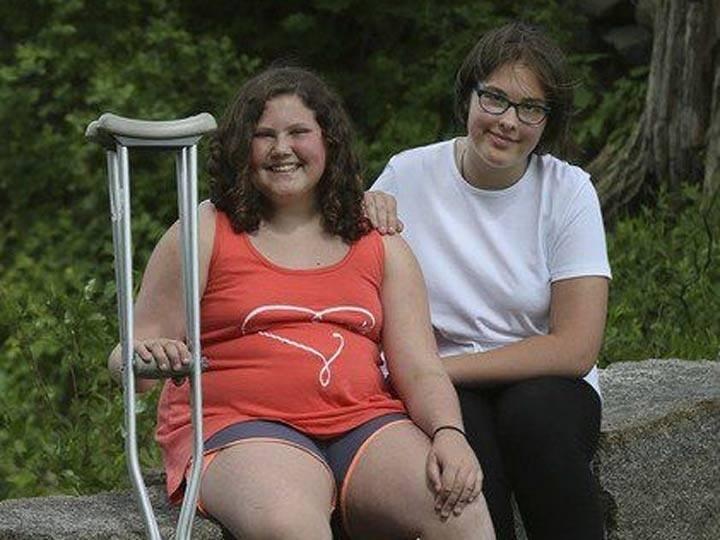Una niña salvó la vida de su amiga gracias a lo que aprendió en una película