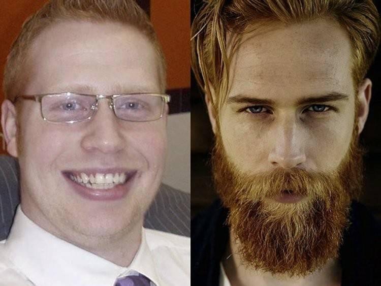 Este hombre escuchó un consejo de su barbero y su vida dio un vuelco de 180 g..