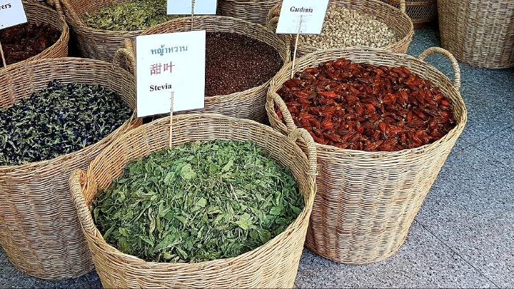 stevia natural hojas