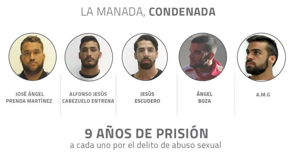 Un grupo de cinco hombres abusaron sexualmente de una joven de 18 años