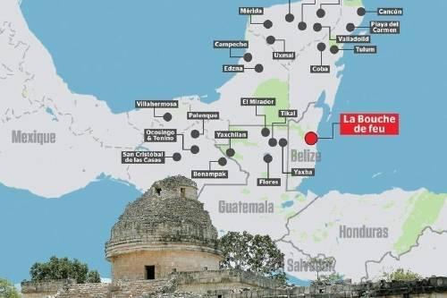 Un niño de 15 años descubre una ciudad maya oculta