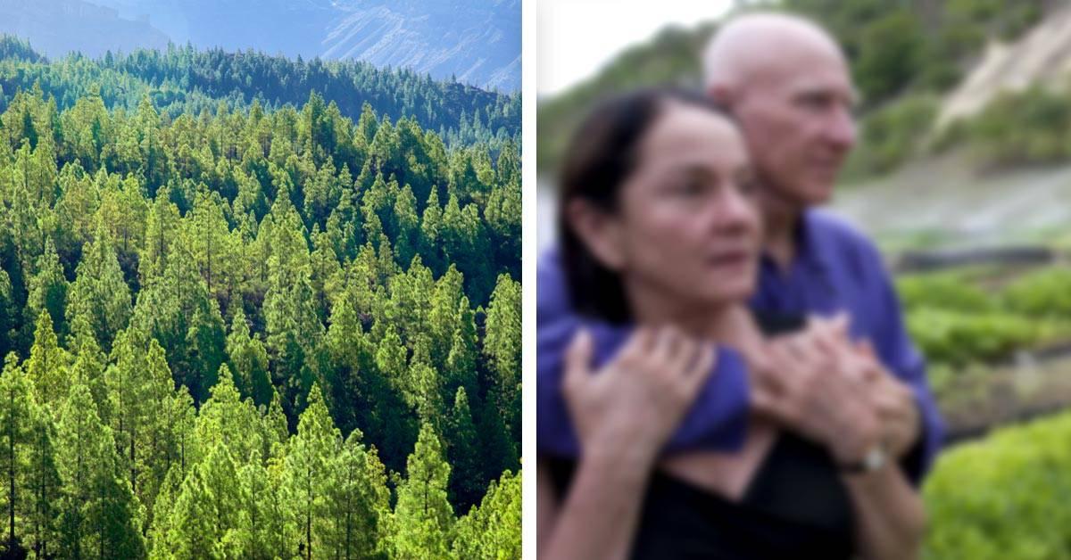 Este reconocido fotógrafo plantó 2 millones de árboles para reforestar su pueblo