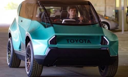 Un auto eléctrico, ¡con interior flexible!