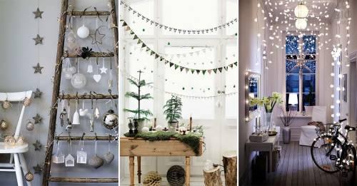 Decoraciones de navidad minimalistas y hermosas