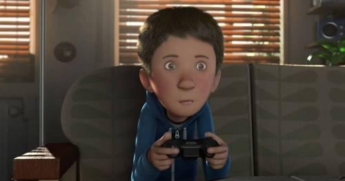 Un niño adicto a los videojuegos recibe un regalo muy especial que le cambiar..