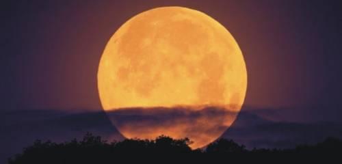 Superluna: la última luna llena del año, la más impresionante