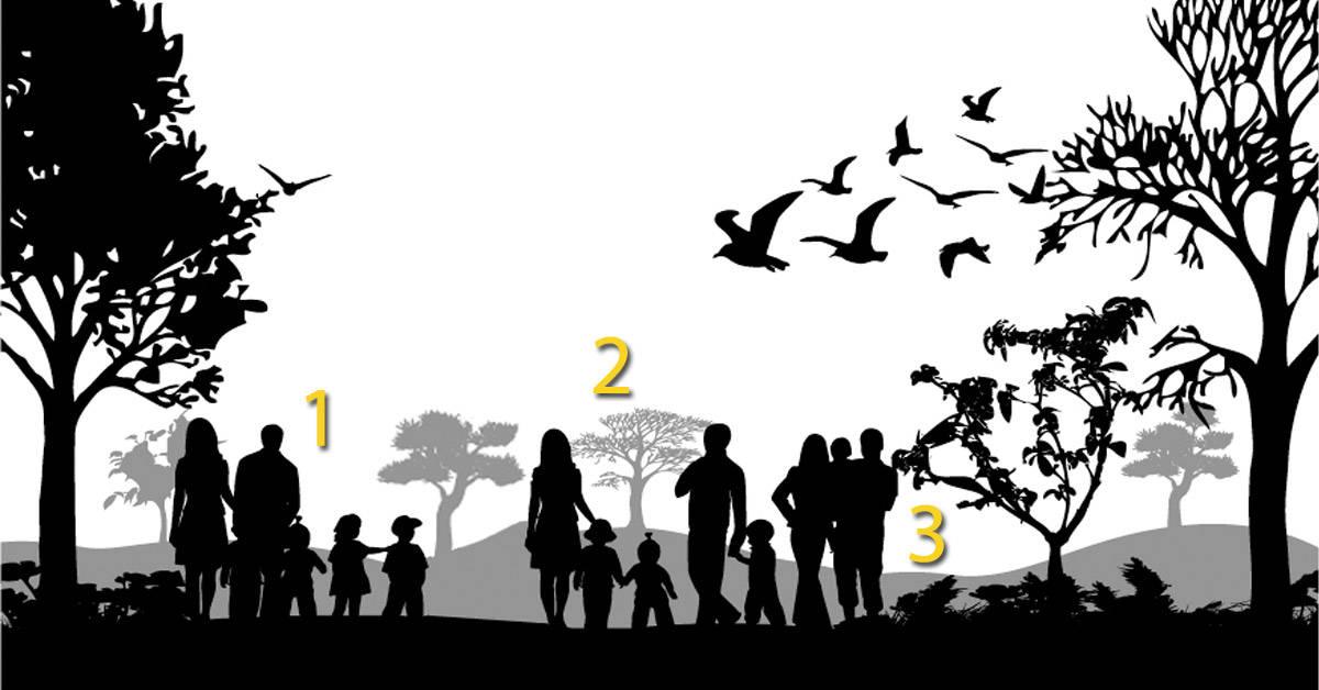 Test psicológico: adivina cuál no es una familia y te diremos cómo eres en reali
