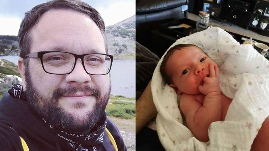 Tras la muerte de su beba, un hombre advierte sobre la importancia de lavarse las manos