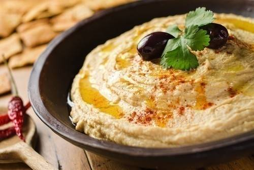 Hummus de jalapeños