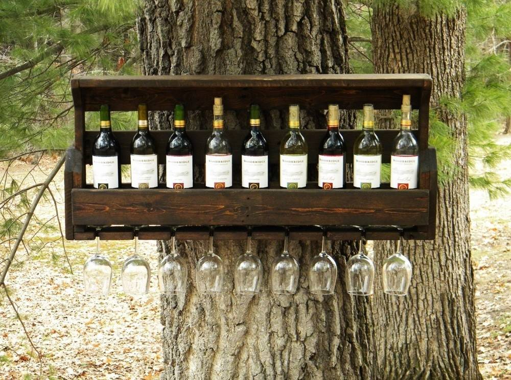 Cómo hacer un mueble para vinos con pallets