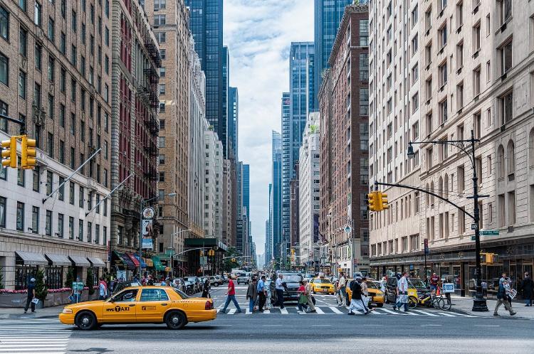 """El alcalde de New York planea """"abrir completamente"""" la ciudad a partir del 1 de julio"""