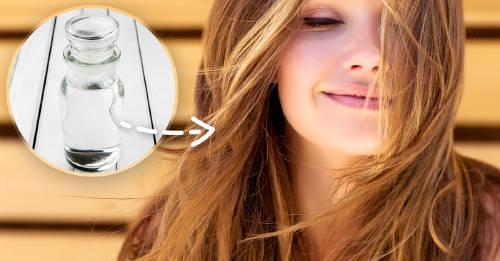 El truco del vinagre blanco que usan en Francia para tener el cabello perfecto
