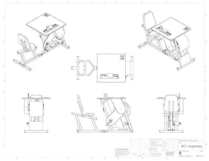 pedal power- planos