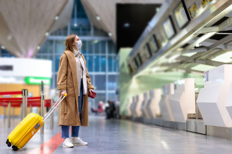coronavirus viaje aeropuerto