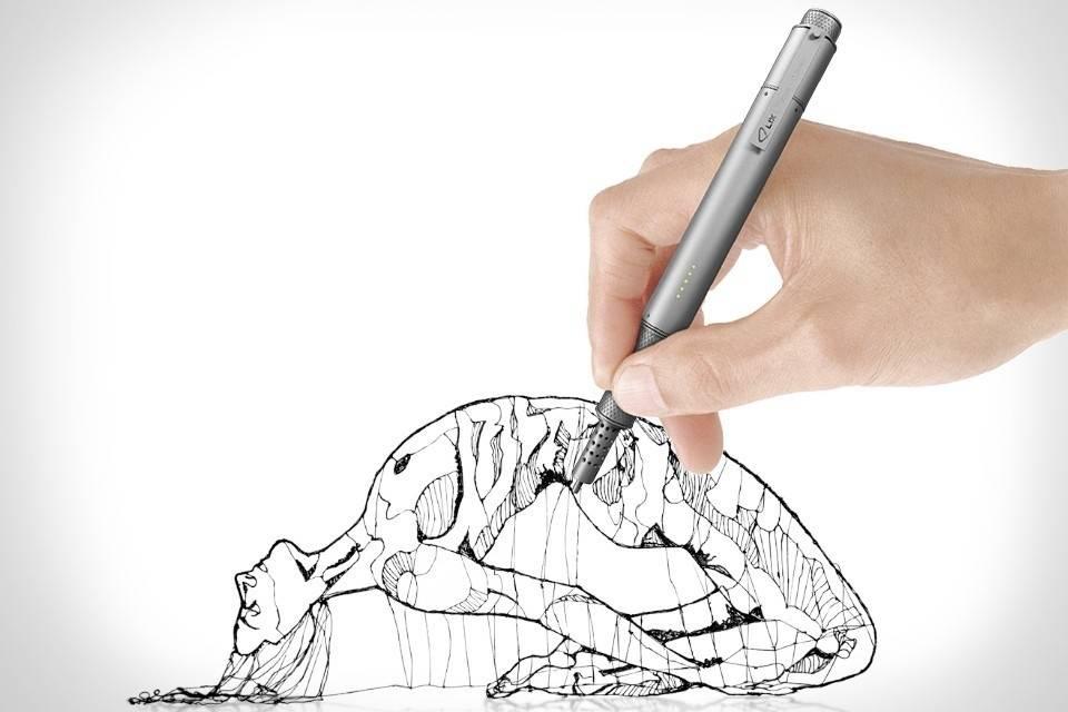 Este lápiz hace impresiones 3D de cualquier cosa que imagines