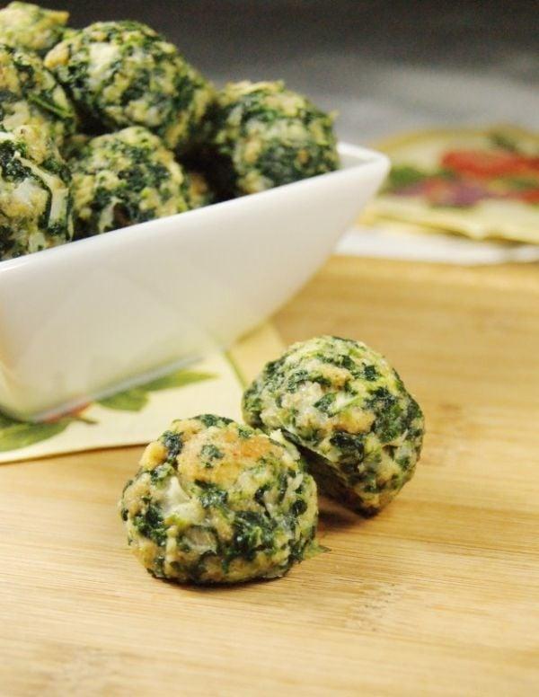 Spinach Balls 2