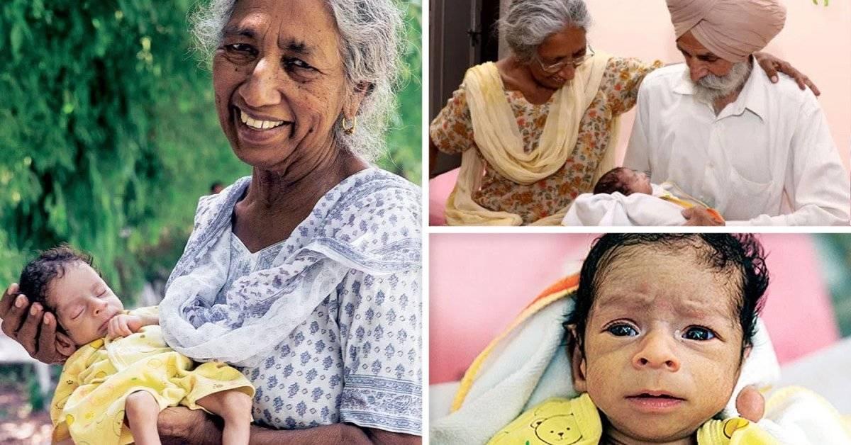Esta mujer tuvo su primer hijo a los 72 años de edad. Pero estas fueron las consecuencias
