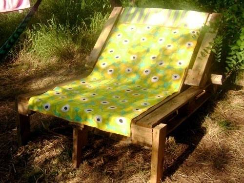 Cómo realizar un sillón con 2 palets