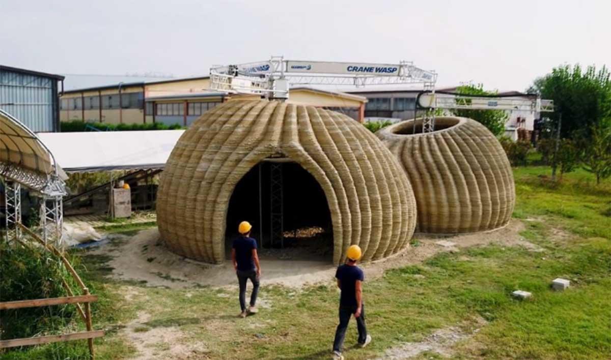 Así son las primeras casas ecológicas del futuro, construidas con impresoras 3D
