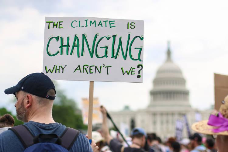 protesta climatica