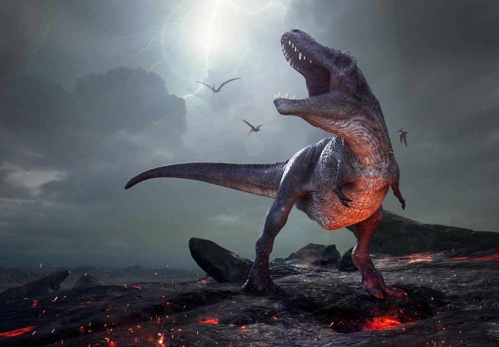 Las erupciones volcánicas coinciden con la época de extinción de los dinosaurios