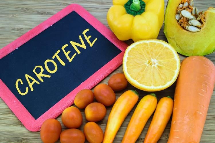 frutas vegetales carotenoides