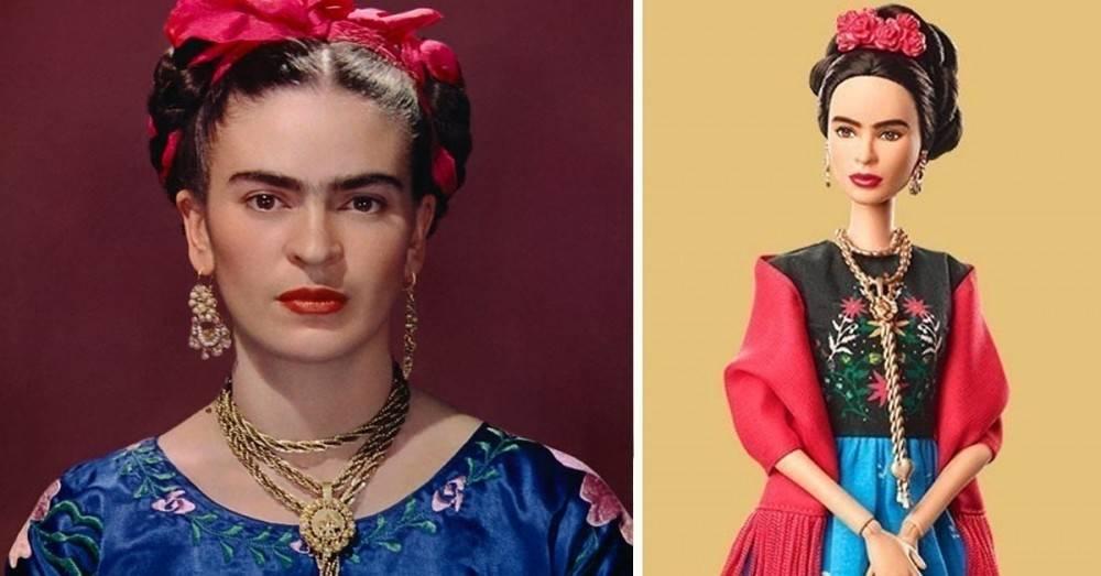 Estas 17 muñecas Barbie están basadas en mujeres inspiradoras y las queremos..