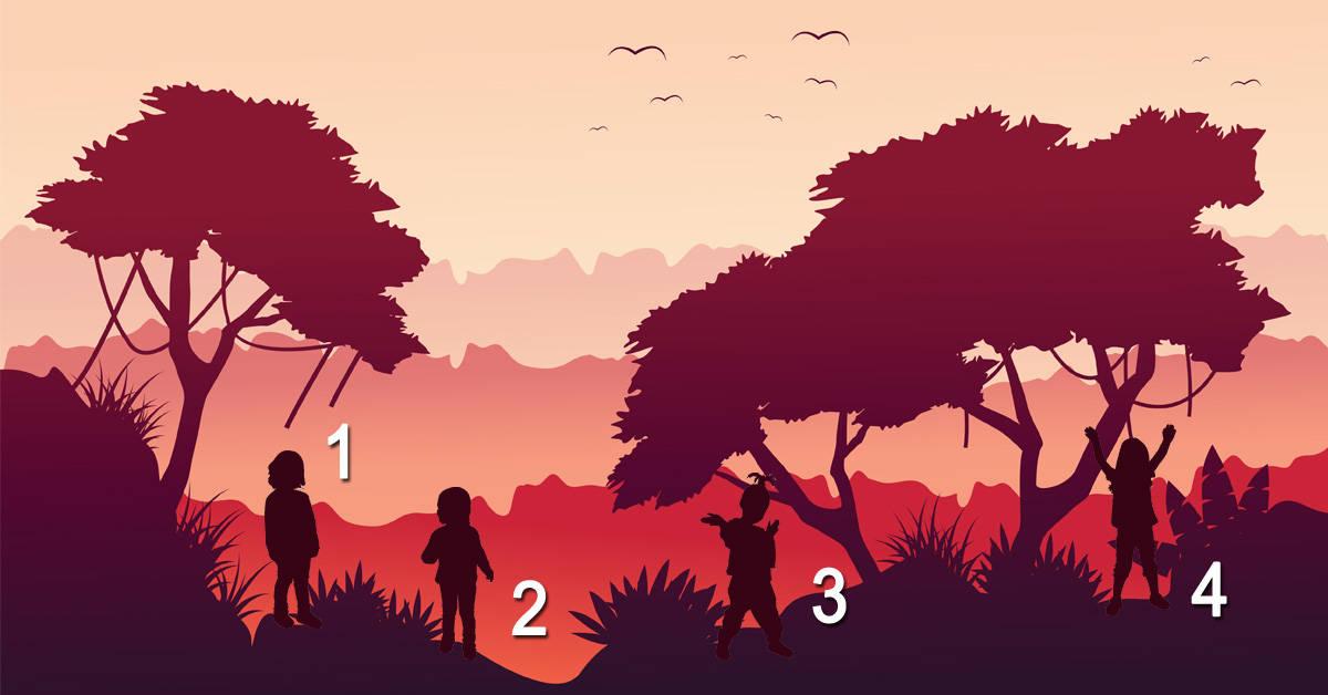 Test psicológico: adivina cuál no es un niño y te diremos cómo eres en realidad