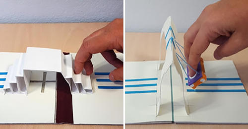 Investigadores crearon libros con modelos 3D para niños no videntes