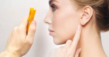 Reflexología: usa un broche de ropa en tu oreja y mejora tu salud