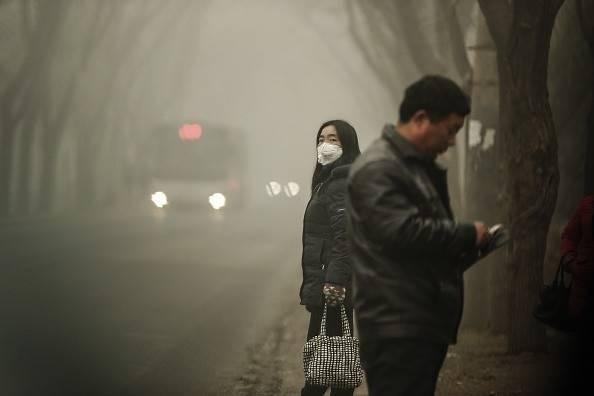 China está tan contaminado que puedes convertir el aire en ladrillos