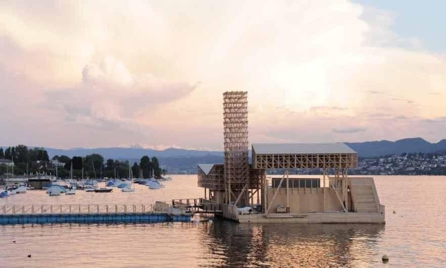 Tendrá una estructura híbrida hecha en un 90% de materiales de madera
