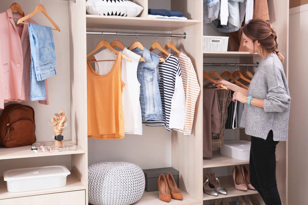 7 motivos para realizar el proceso de armario detox