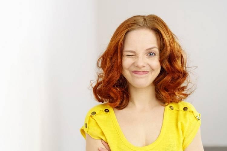 pelo rojo pelirroja cabello