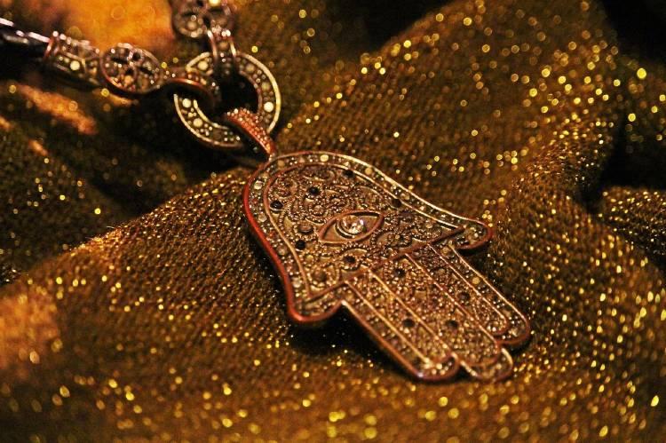 Jamsa: un amuleto de la buena suerte