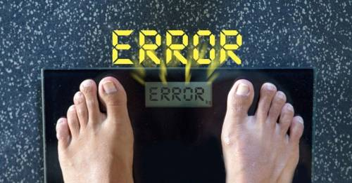 3 razones por las que no deberías confiar tanto en la balanza