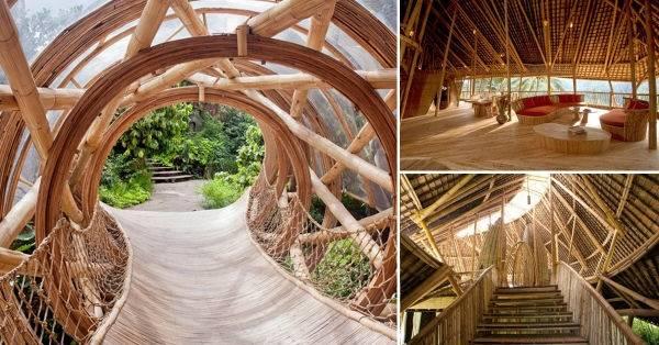 Maravillosa arquitectura hecha con un sorprendente material sustentable