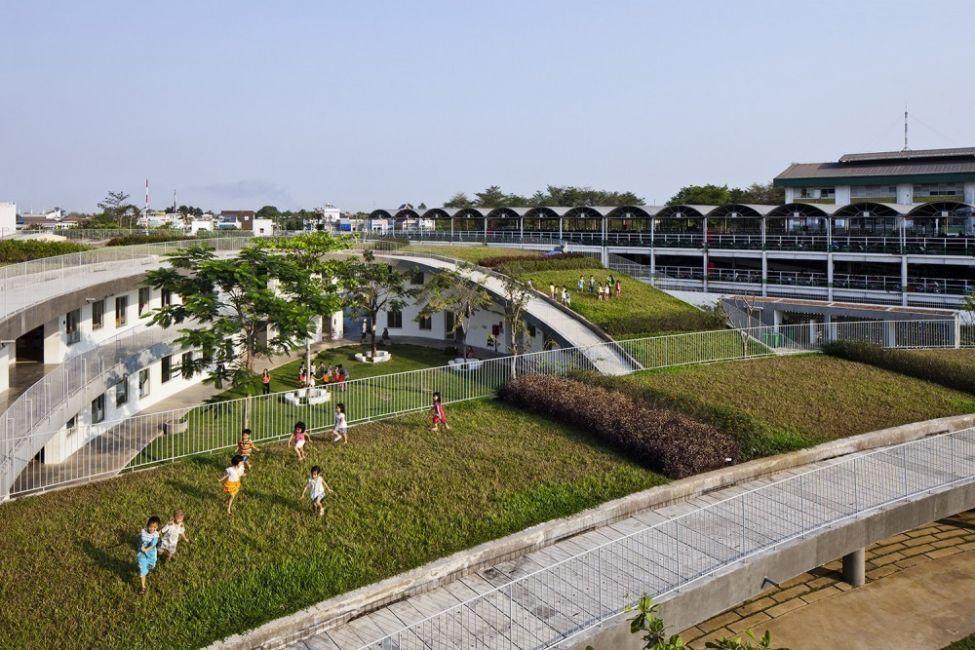 Estos niños van a un jardín ecológico en Vietnam- 1