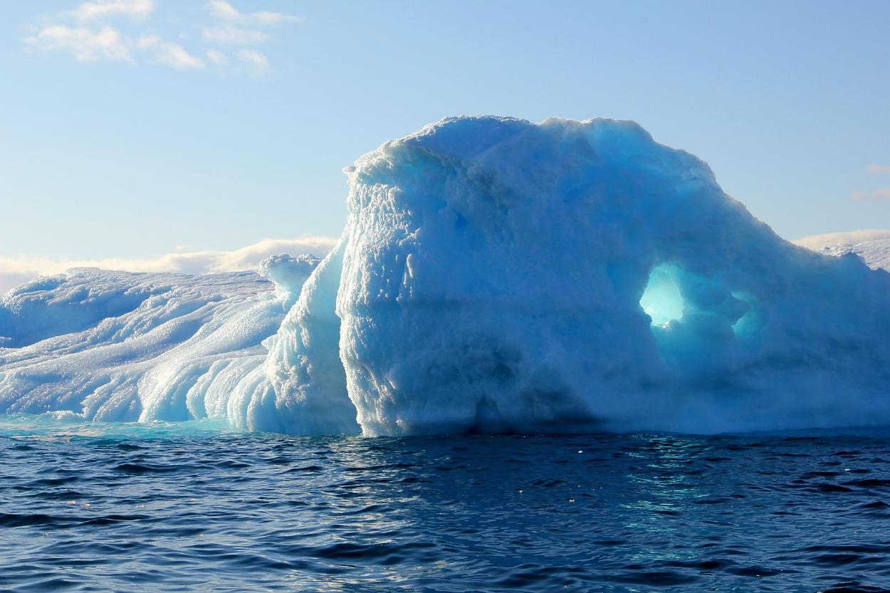 """""""Persiguiendo el hielo"""" un documental del desprendimiento glaciar"""